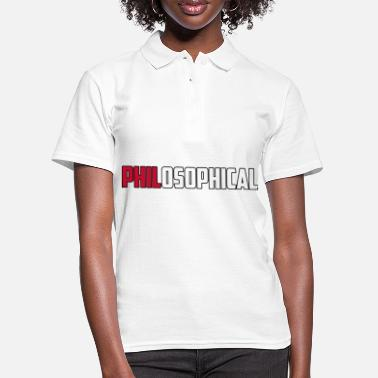 PhilosophicalBrit - Frauen Poloshirt