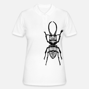 Stag Stag beetle - stag beetle - Women's Polo Shirt