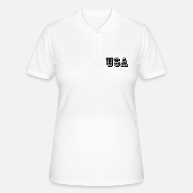 USA United States of America flag flag - Women's Polo Shirt