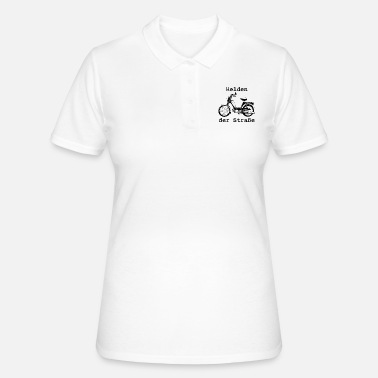 Prima Heroes of the Road, Hercules Prima 5, 25 km / h, moped - Women's Polo Shirt