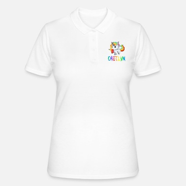 Caitlyn Unicorn Caitlyn - Women's Polo Shirt
