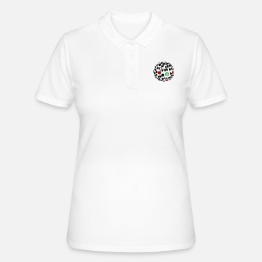 Gioco gioco, gioco d'azzardo, gioco, golf - Women's Polo Shirt