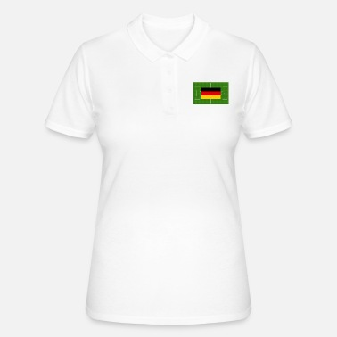Schland Germany soccer field - Women's Polo Shirt
