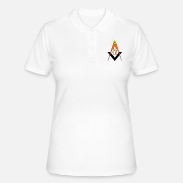 Freemason Freemason Compass - Women's Polo Shirt
