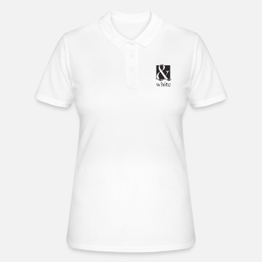 Black And White black and white, black and white - Women's Polo Shirt
