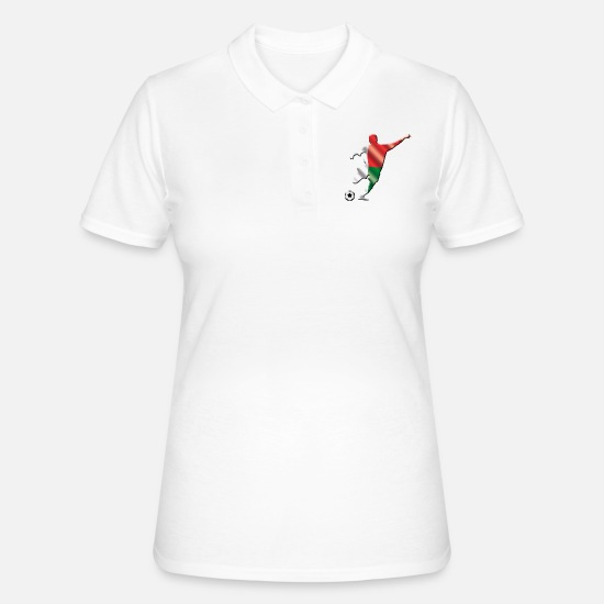 Gift Idea Polo Shirts - Madagascar - Women's Polo Shirt white