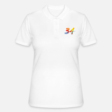 34 Birthday 34 - Frauen Poloshirt
