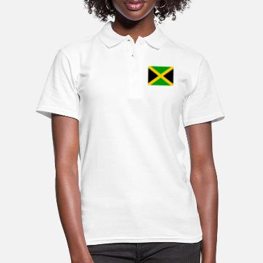 Jm Flag of Jamaica (jm) - Women's Polo Shirt