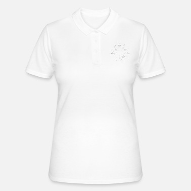 Boot schedel - Women's Polo Shirt