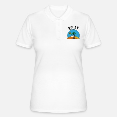 Relax Relax - Summer and Chill - Frauen Poloshirt