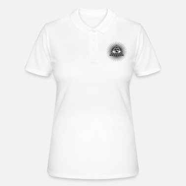 Freemason All seeing eye Triangle Horus Freemasons - Women's Polo Shirt