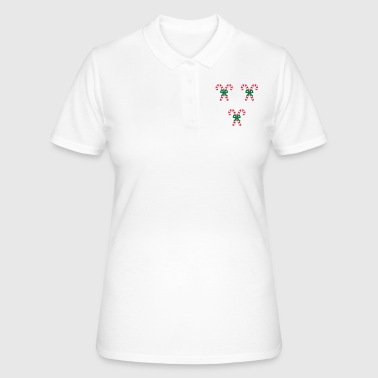 Cane candy canes - Women's Polo Shirt