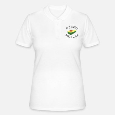Sjov It's Always Guac O' Clock - Poloshirt dame