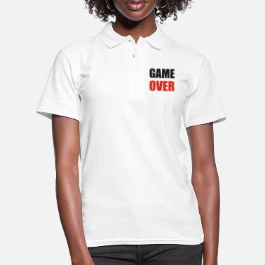 Game Over game over - Poloskjorte for kvinner