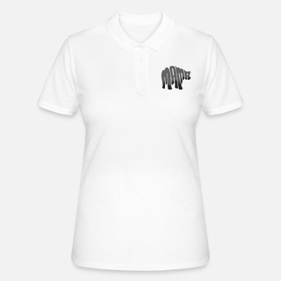 Suocera Polo - Mama Bear Mothers Day Gift - Camicia - Polo donna bianco