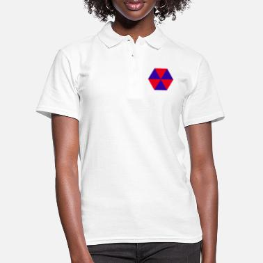 abstract - Women's Polo Shirt