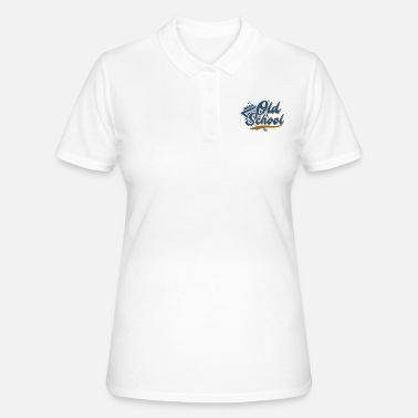 Old School Old School - Camiseta polo mujer