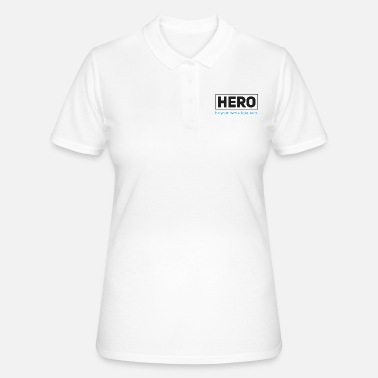 Held - wees je eigen allgäuhero - Women's Polo Shirt