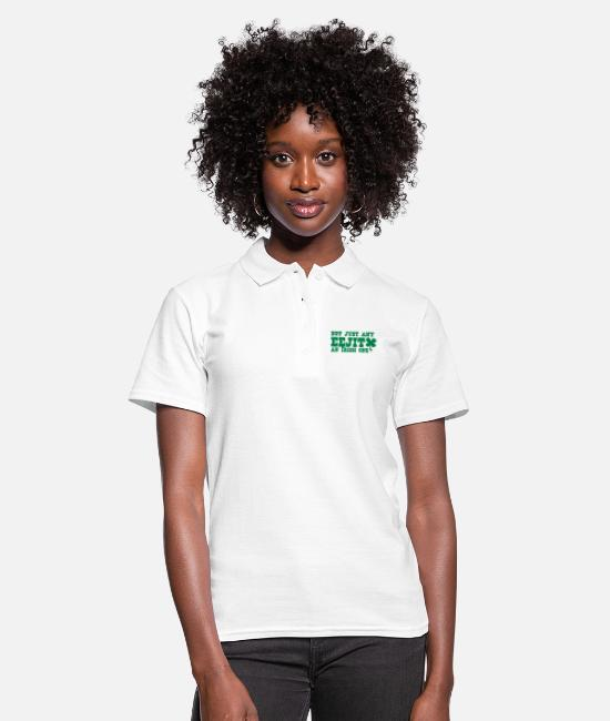 Beers Polo Shirts - NOT JUST any EEJIT and Irish one! shamrock - Women's Polo Shirt white