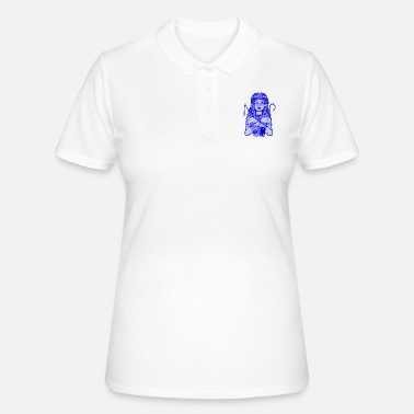 Asterix CEO Cleopatra - Electric blue - Polo Femme