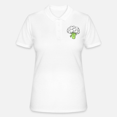 Brócoli blanco - Women's Polo Shirt