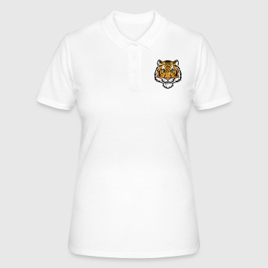 Tiger Tiger Tiger - tijgerkop - Women's Polo Shirt