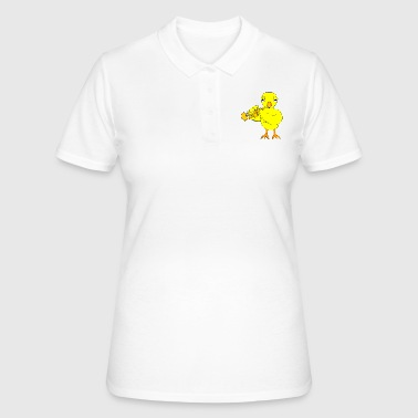 Brass Band Trumpet Chick - Women's Polo Shirt