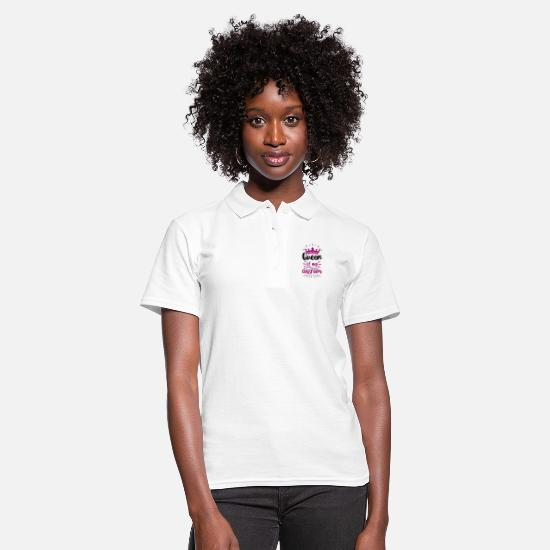 Kindergarten Polo Shirts - Queen of my Classroom - Women's Polo Shirt white