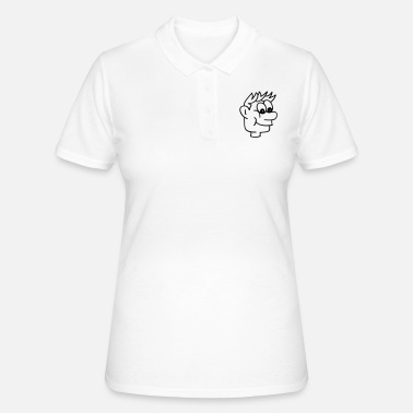 Personaje De Dibujos Animados Personaje de dibujos animados chico -  Camiseta polo mujer 170979139e569