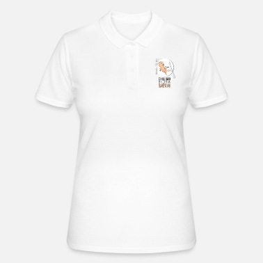 Provocative Black humor provocative - Women's Polo Shirt