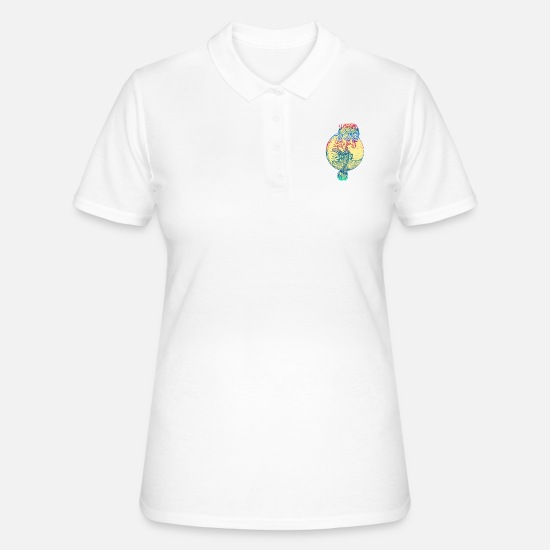Mermaid Polo Shirts - Mermaid mermaid mermaid fairy tale - Women's Polo Shirt white