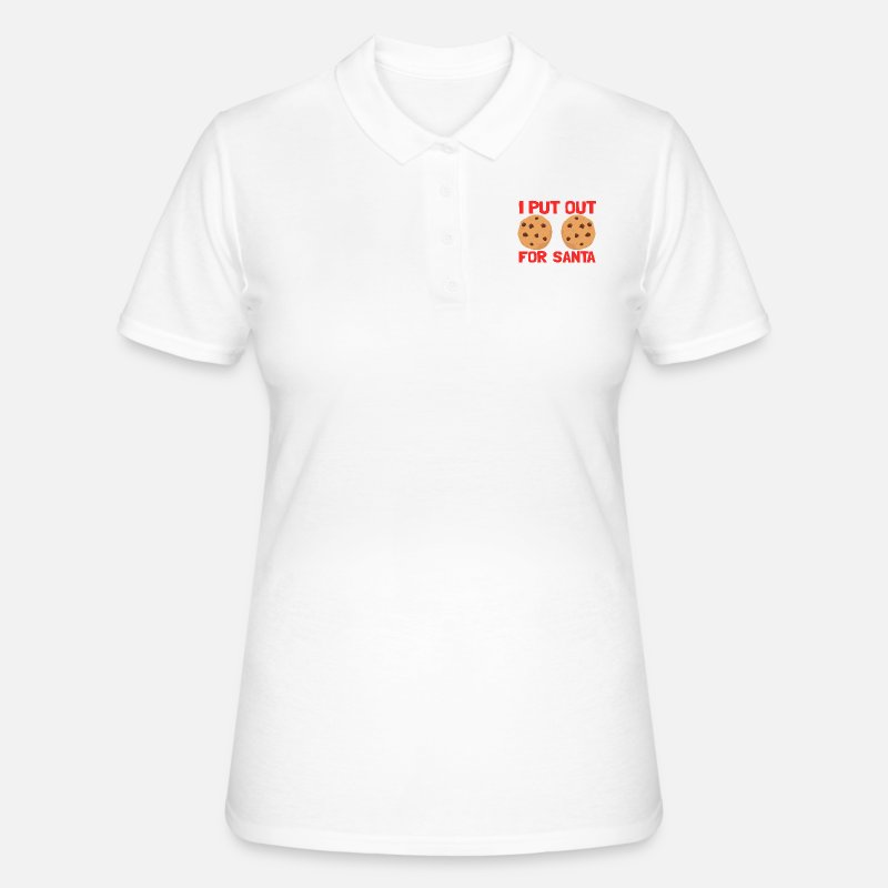 Put Out Cookies Weihnachten Kekse Frauen Poloshirt Spreadshirt