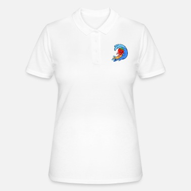 Sporty Sporty Strawberry - Women's Polo Shirt