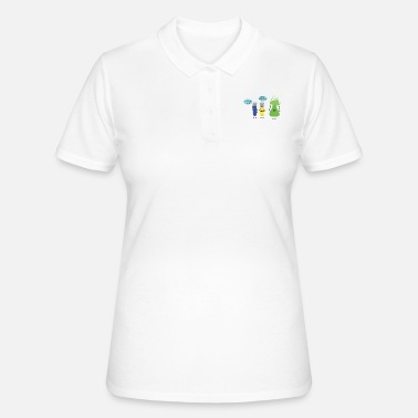 Litigio Litigio divertente chimica di provette - Women's Polo Shirt