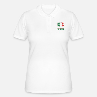 Culture Funny Italian Gelatto TIl The End - Women's Polo Shirt