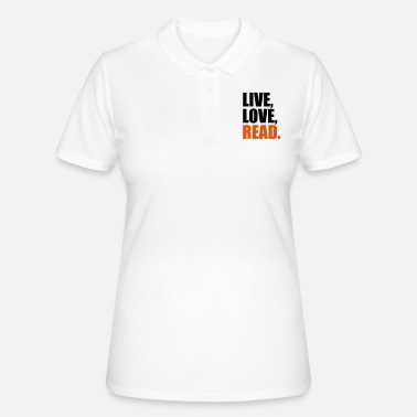 Reading read - Women's Polo Shirt