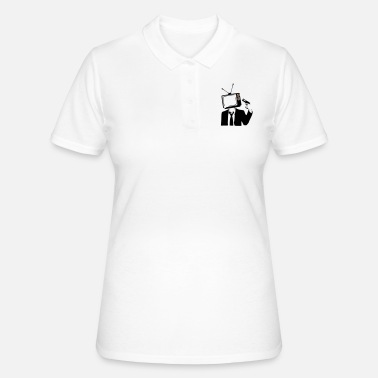 Television TELEVISION IS POOP - Women's Polo Shirt