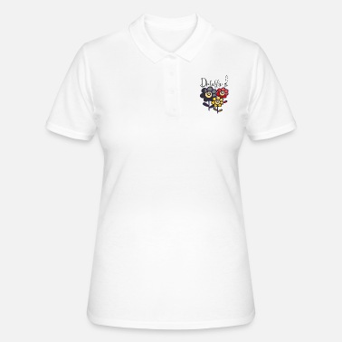 Deutschlandflagge Deutschland, Blumen, Deutschlandflagge - Frauen Polo Shirt 373ab3293d