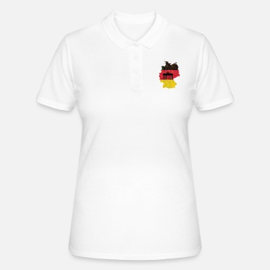 Federal Republic Of Germany The Federal Republic of Germany + Brandenburg Gate - Women's Polo Shirt