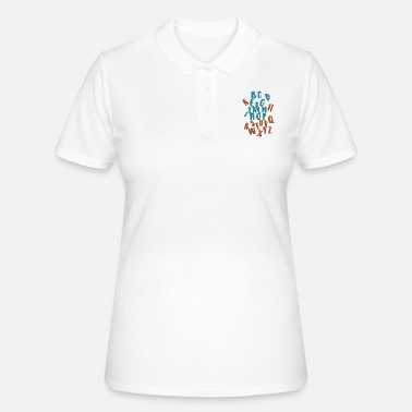 Alphabet Alphabet - Women's Polo Shirt