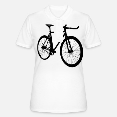 Single Speed Single Speed Fixi som gave til cyklister - Poloshirt dame