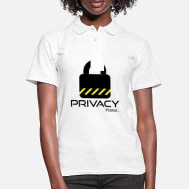 Please Privacy Please Please ... privacy please ... - Women's Polo Shirt