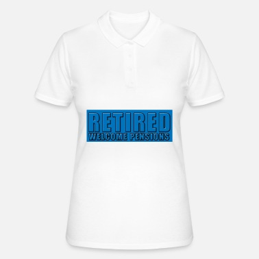 Pension pensioner - Frauen Poloshirt