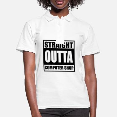Computers computer - Women's Polo Shirt