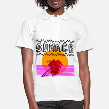 Idea de regalo de camiseta de Summer Freak - Camiseta polo mujer