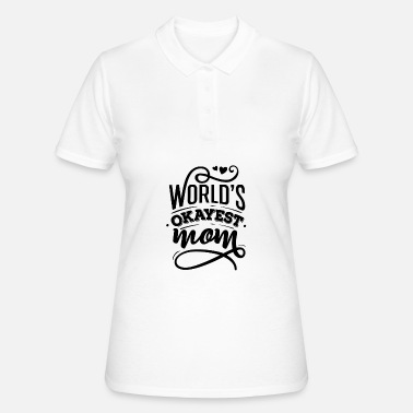 World's Okayest Mom - Women's Polo Shirt