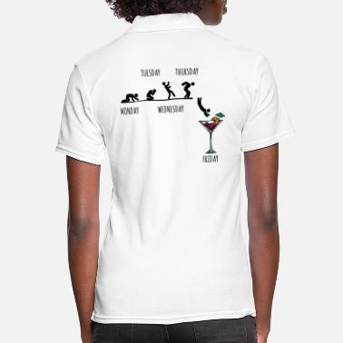 Party Party partying - Women's Polo Shirt