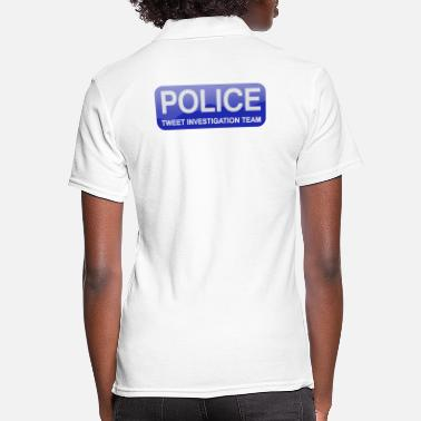 POLICE Tweet Investigation Team - Women's Polo Shirt