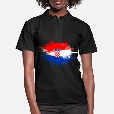 Country Croatia country and countries - Women's Polo Shirt