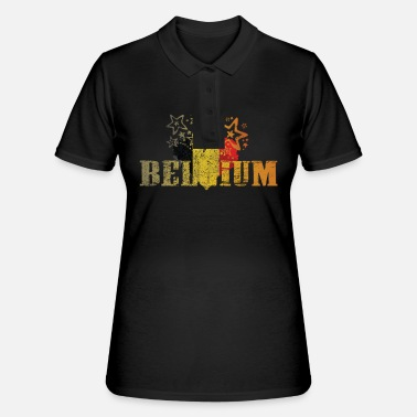 National belgienBelgien, Nationalfarben, National, National - Frauen Polo Shirt
